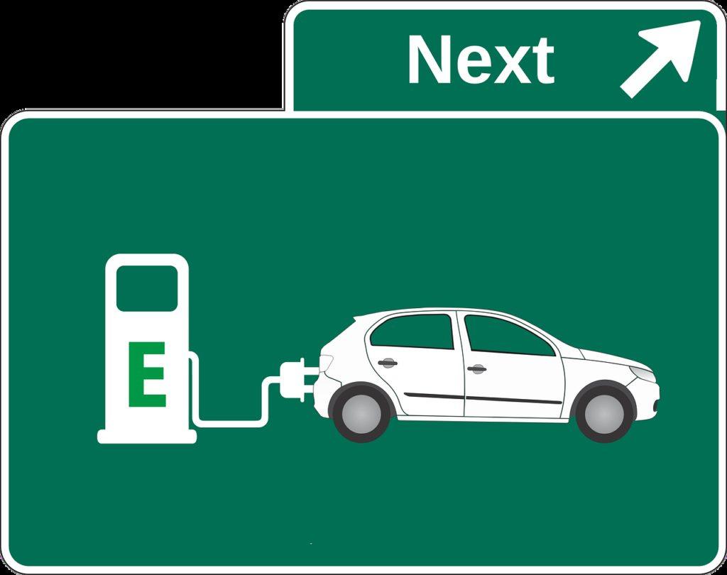 electric car, petrol stations, environment